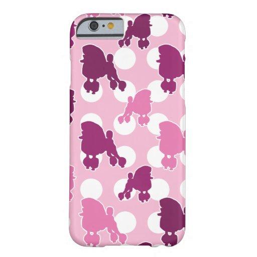 Pink Poodle Polka Dot iPhone 6 Case