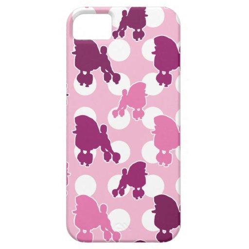 Pink Poodle Polka Dot iPhone 5 Case