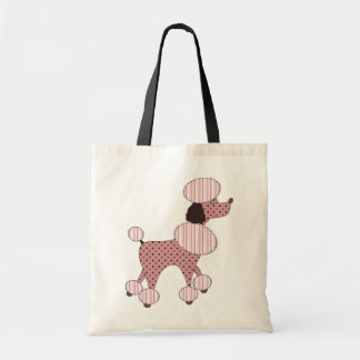 Pink Poodles On Parade Bag