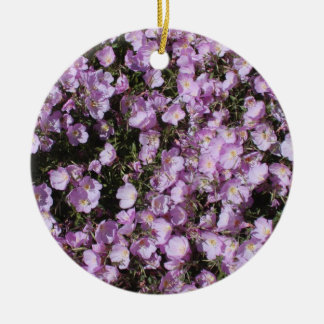 Pink Poppies Ornament