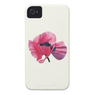 Pink Poppy Closeup iPhone 4 Case-Mate Case