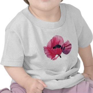 Pink Poppy Closeup Kids T Shirt