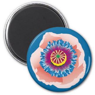 Pink Poppy magnet