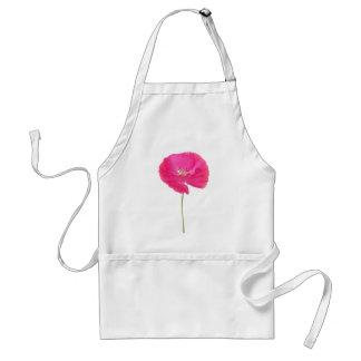 pink poppy standard apron