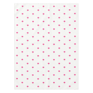 pink poppy tablecloth