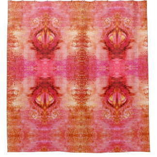 Pink Portal Shower Curtain