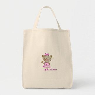 Pink Power Monkey Tote