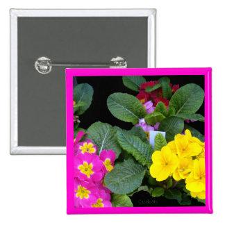 Pink Primrose Yellow Buttons