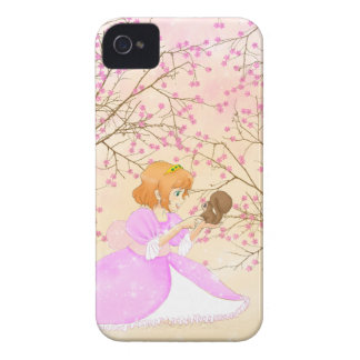 Pink Princess and squirrel BlackBerry Bold Case