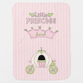 Pink Princess Baby Blanket