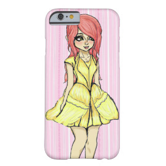 Pink Princess Barely There iPhone 6 Case