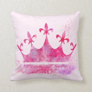 Pink Princess Crown Cushion