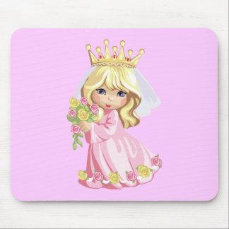 Pink Princess Mouse Mat