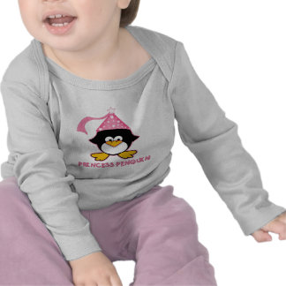 Pink Princess Penguin T-shirt