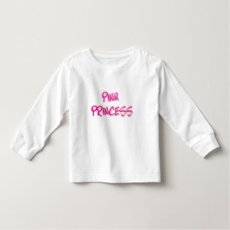 Pink Princess Toddler T-Shirt