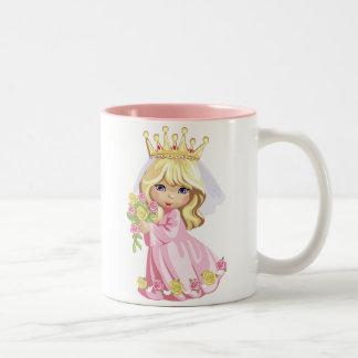 Pink Princess Two-Tone Mug
