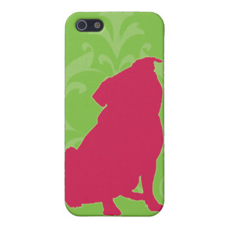 Pink Pug iPhone 5/5S Cases