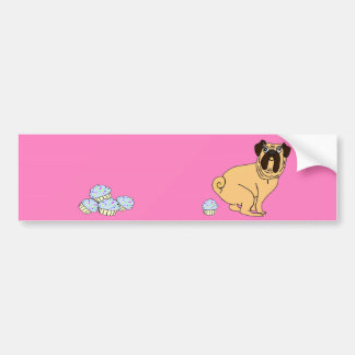 pug pooping no dog poop stickers zazzle co uk 9172