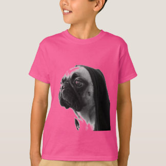 Pink Pug T-Shirt