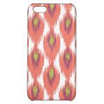 Pink Purple Abstract Tribal Ikat Diamond Pattern iPhone 5C Covers