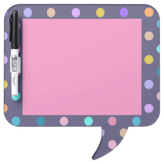 Pink purple all over confetti polka dots board
