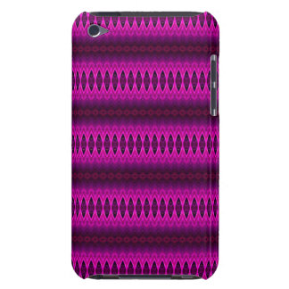 Pink, Purple and Red Diamond Stripes Case-Mate iPod Touch Case