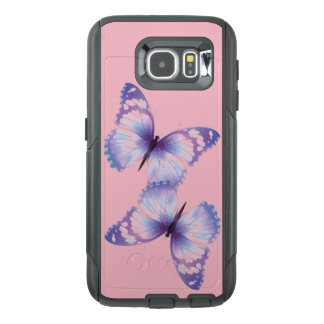 Pink & Purple Butterfly Cell Phone Case