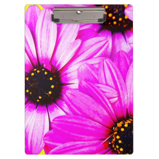 Pink/Purple Daisies - Clipboard