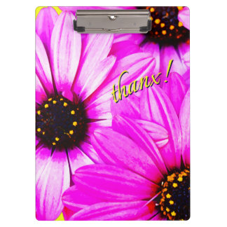 Pink/Purple Daisies, thanx! - Clipboard