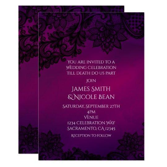 Pink & Brown Vintage Birdcages Wedding Invitation
