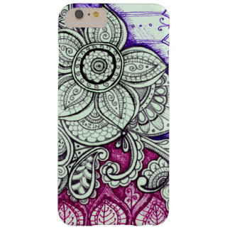 Pink Purple Ethnic Exotic Moroccan Indian Mandala Barely There iPhone 6 Plus Case