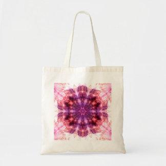 Pink & Purple Flower Kaleido-tote Tote Bag
