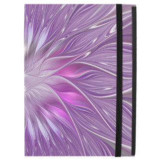 "Pink Purple Flower Passion Abstract Fractal Art iPad Pro 12.9"" Case"