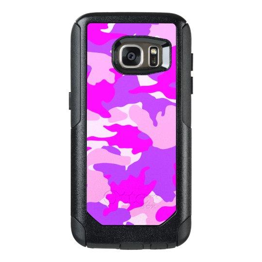 Pink Purple Girly Camo Military Camouflage Pattern OtterBox