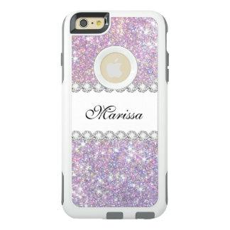 Pink Purple Glitter Otterbox iPhone 6/6s Plus Case