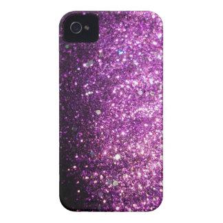 Pink Purple Glitter Sparkle iPhone Case