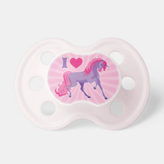 Pink & Purple I Heart Love Unicorns Dummy