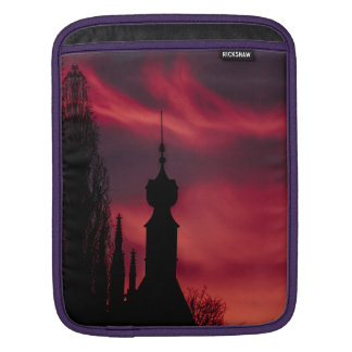pink purple iPad sleeve