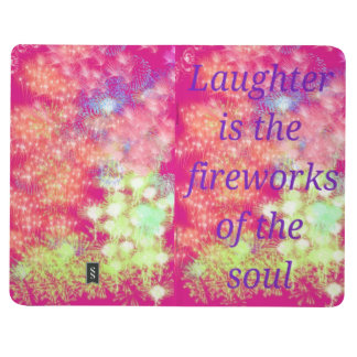 Pink & Purple Journal with Fireworks