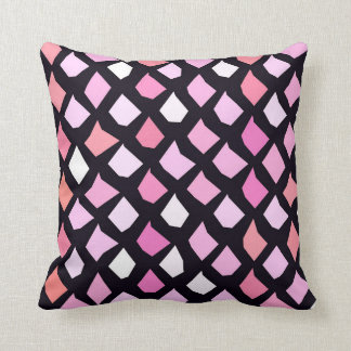 Pink Purple Lavender Red Pattern Cushion