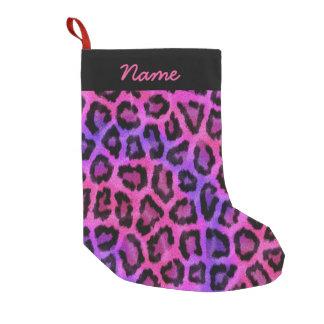 Pink & Purple Leopard Print