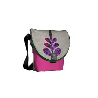 Pink & Purple Lilacs Courier Bags
