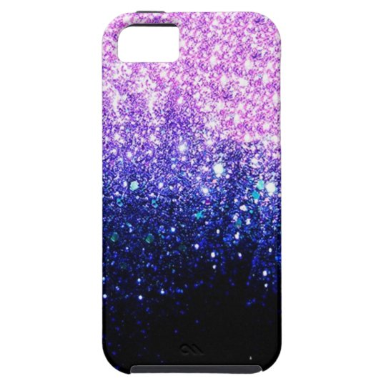 Pink-purple Ombre design Tough iPhone 5 Case
