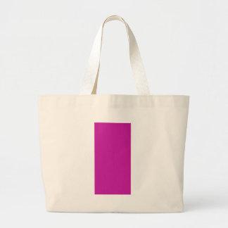 Pink Purple Plain Blank DIY add text image photo Jumbo Tote Bag