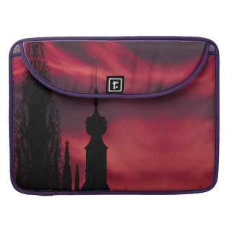 pink purple silhouette sleeve for MacBook pro