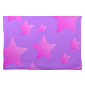 Pink/Purple Star Pattern Placemat