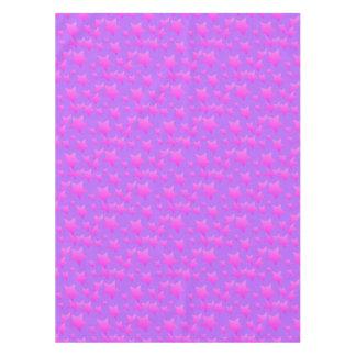 Pink/Purple Star Pattern Tablecloth