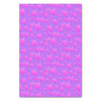 Pink/Purple Star Pattern Tissue Paper