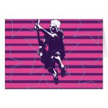 Pink Purple Superstar Card