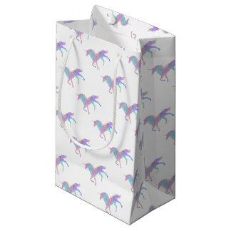 Pink Purple Unicorn Magical Small Gift Bag